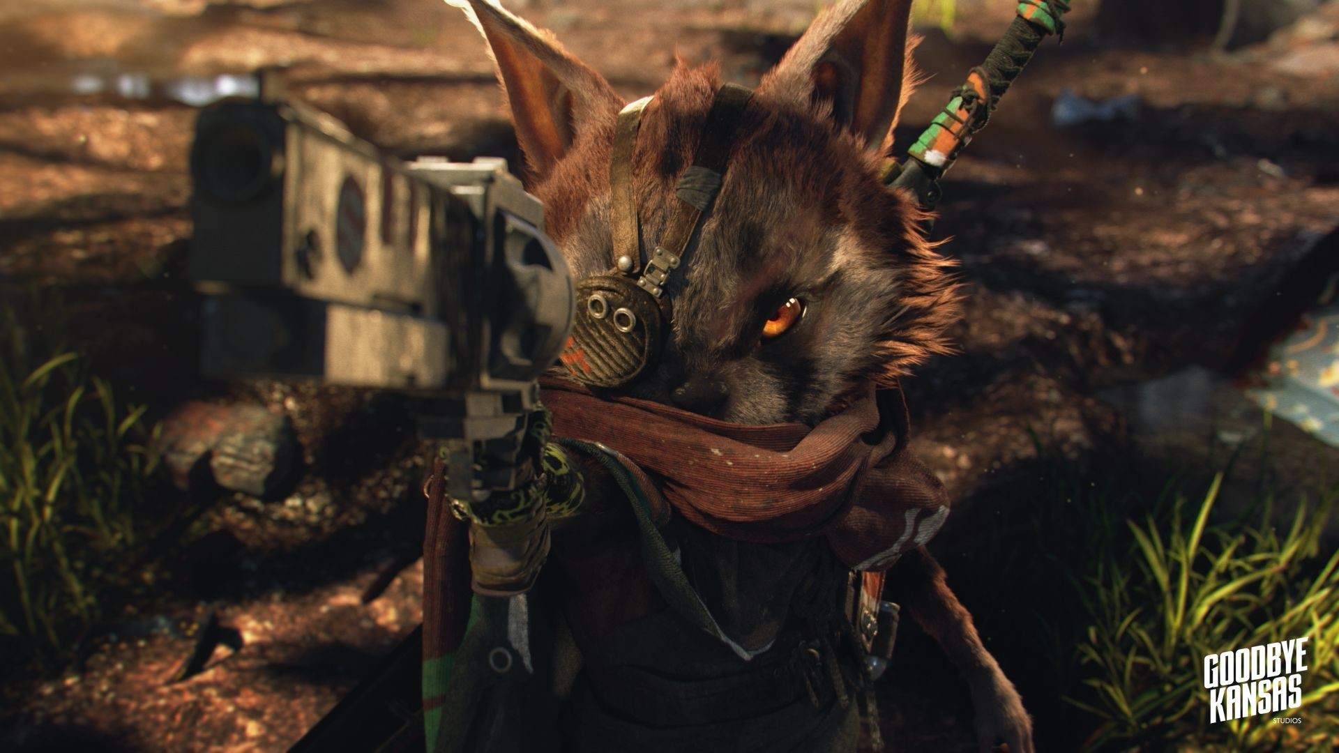 Hero character for Biomutant cinematic trailer