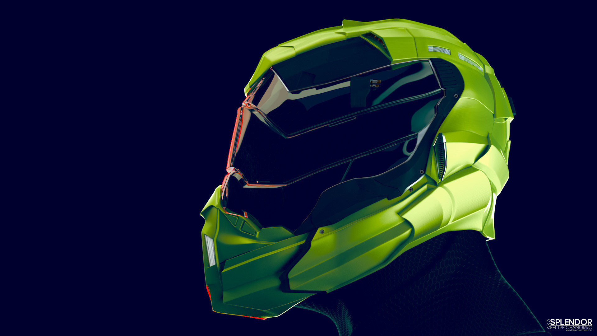 Splendor Helmet SX5 Look Dev